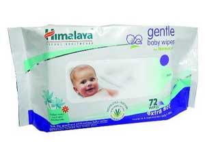 Himalaya Herbals Gentle Baby Wipes 72 Sheets At RS.140