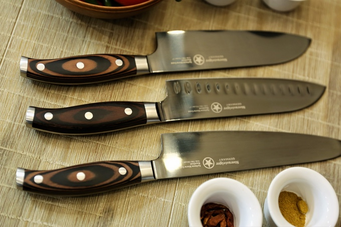 titanium kitchen knives mandolin chef placing value in your hands indiegogo the series is a new product that gets its wide spread release through this campaign all funds raised will be targeted to production and enhancing