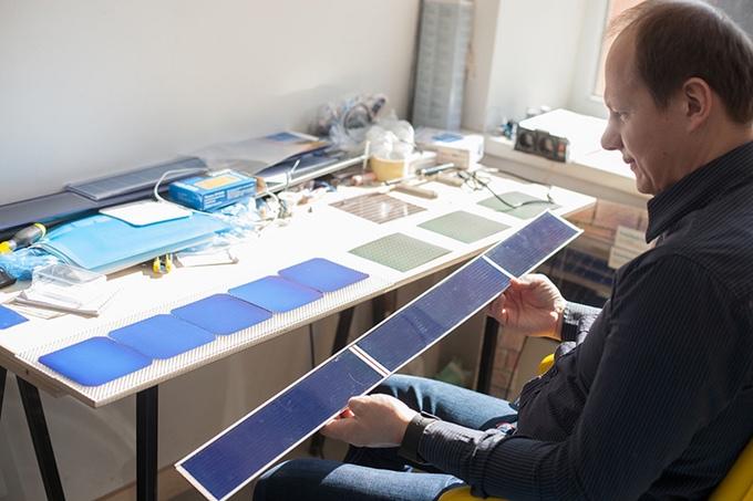 Solargap blinds in development