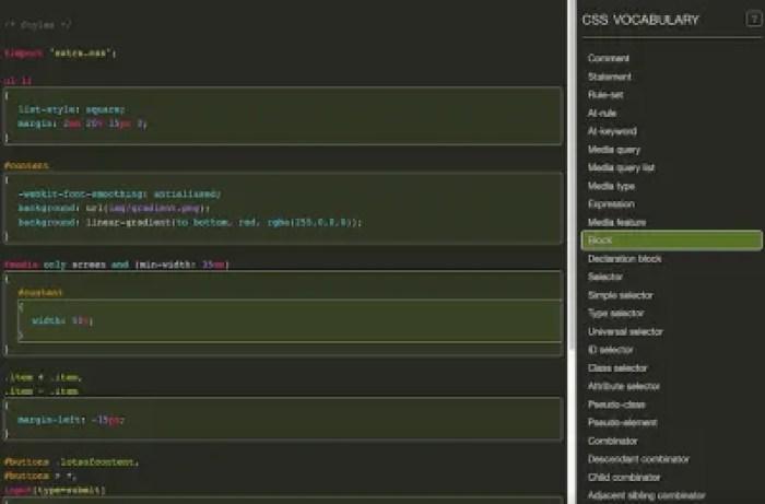 Vocabulaire CSS[</p data-recalc-dims=