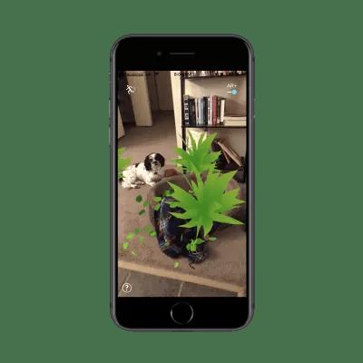 Pokemon Go animates environment