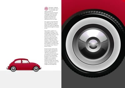 This design, inspired by 'The Foot and the Ferrari.' uses a CSS background-image gradient and the object-fit property.