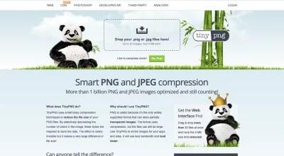 TinyPNG website 2020