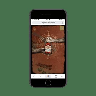 Pacto-Navio home page animation