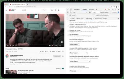Capture d'écran de YouTube d'une session mettant en vedette Jake Archibald et Surma