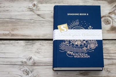 A photo of the Smashing Book 6