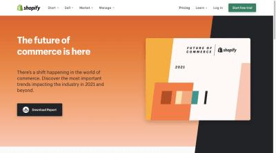 Rapport annuel de Shopify: The Future of Commerce en 2021