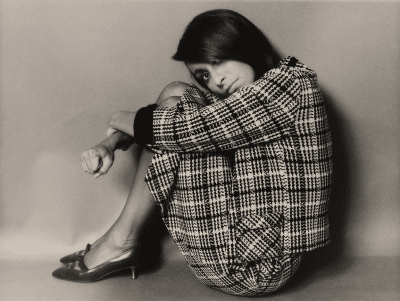 Portrait of Bea Feitler by Bob Richardson, during the 1960s.