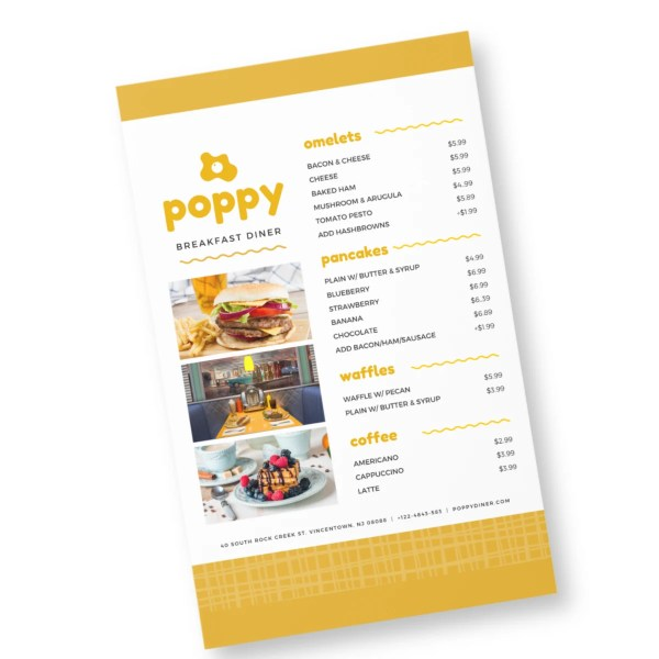 menu card design 4