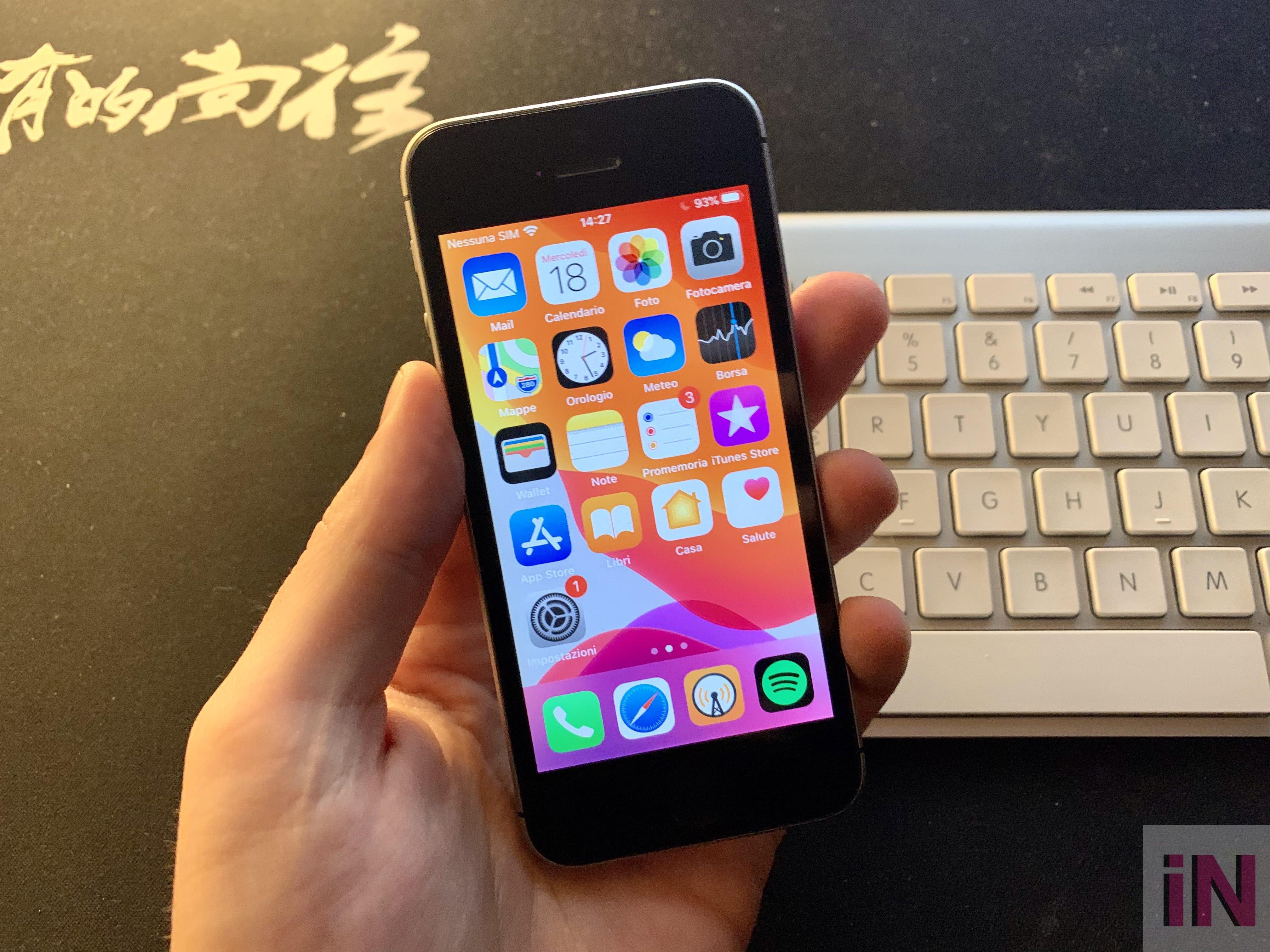 iPhone SE 16 GB a fine 2019, come va?