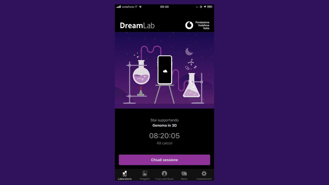 DreamLab, un'app a sostegno di AIRC