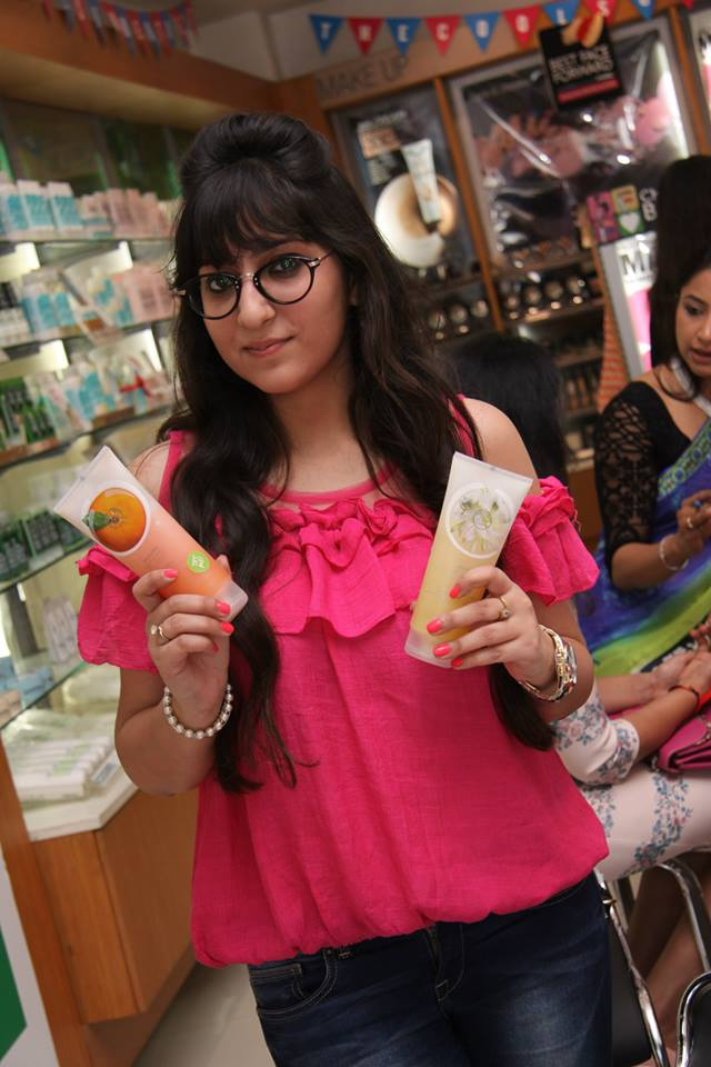 namaste happiness_ the body shop sorbet