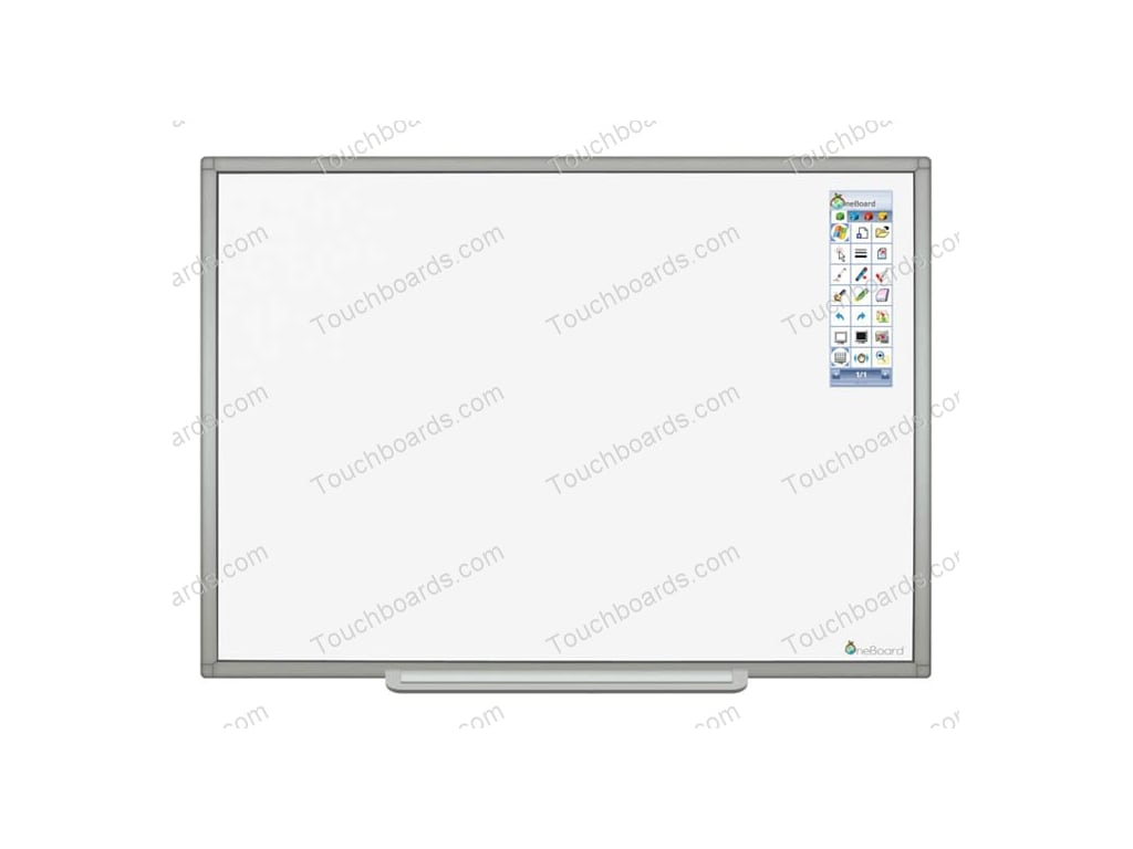 balt OneBoard Porcelain Steel 12800 x 9600 LED Interactive