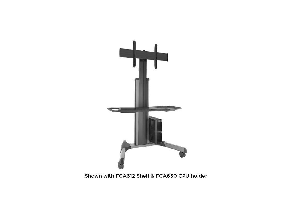 Chief LPAUS Large Fusion Manual Height Adjustable Mobile