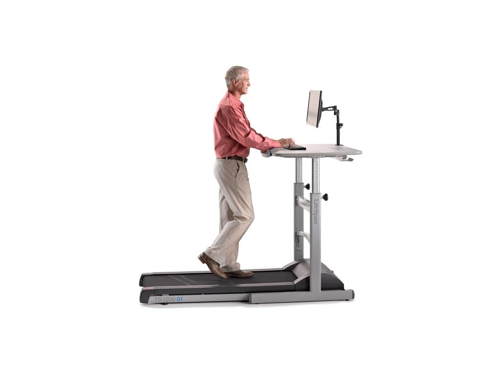 LifeSpan TR 1200-DT5 Treadmill Desk Workstation (Manual