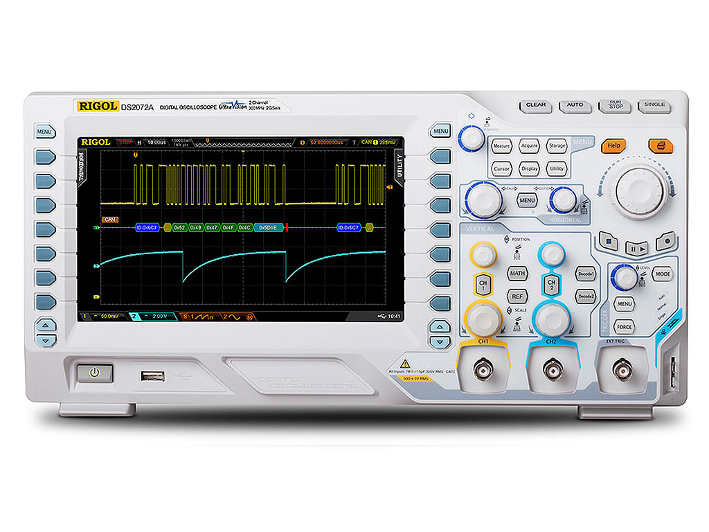hight resolution of rigol ds2072a 70 mhz 2 channel oscilloscope