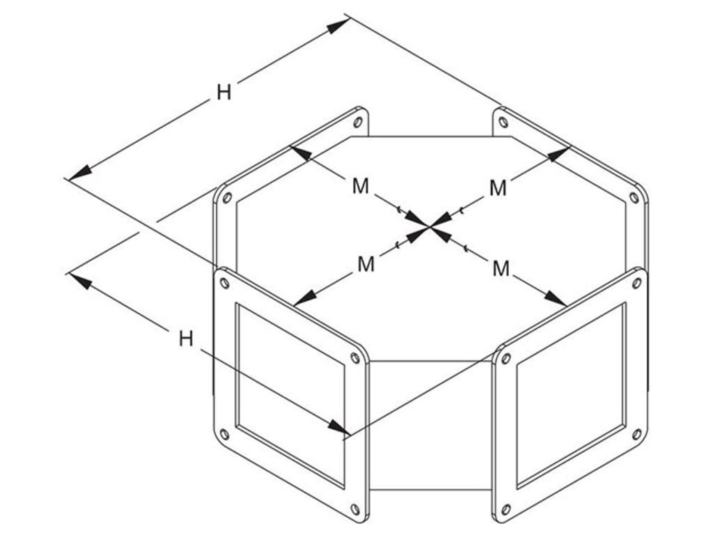 Hammond Cy Cross Fitting Y Series