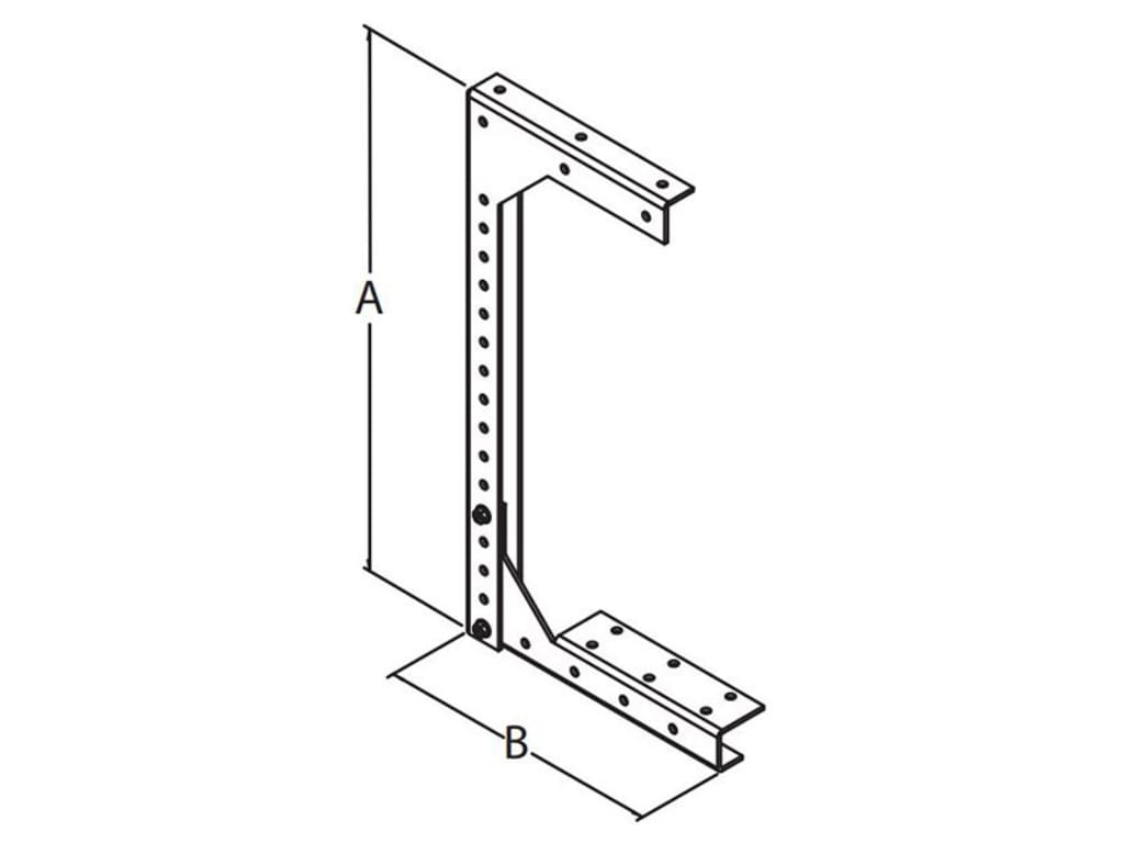 Hammond Cwhd12 Bracket Hanger Ceiling Type Cwh Series