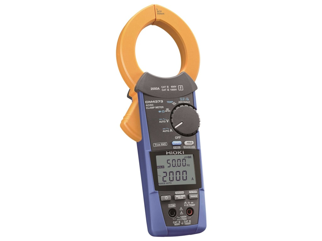 hight resolution of hioki cm4373 ac dc clamp meter 2000a
