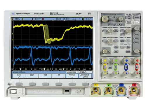 small resolution of agilent mso7104b 7000b series mixed signal 4 16 channel 1 ghz infiniivision oscilloscope