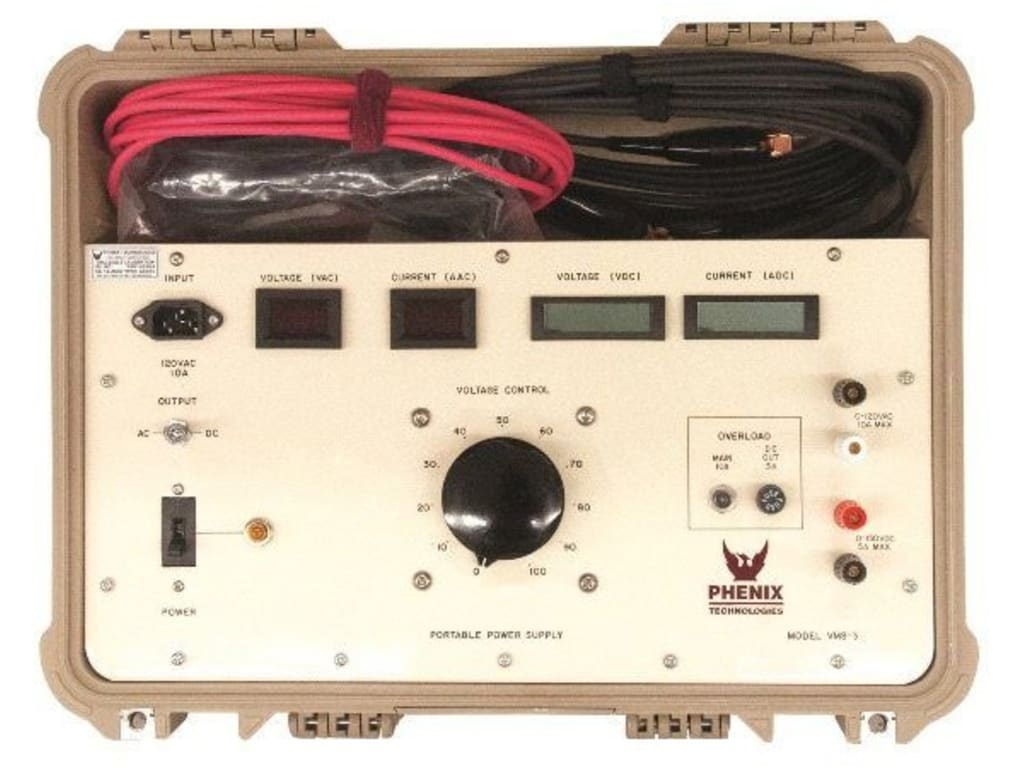 hight resolution of phenix vms 3 series variable voltage power supply
