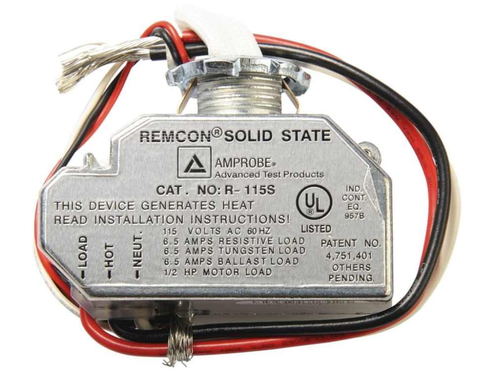 medium resolution of remcon r 115s relay switch