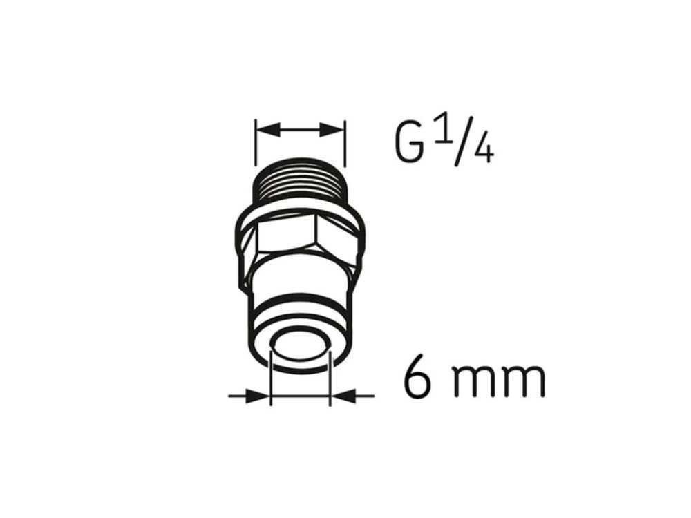medium resolution of skf lapf m1 4s tube connection male ga1 4 for 6x4 tube
