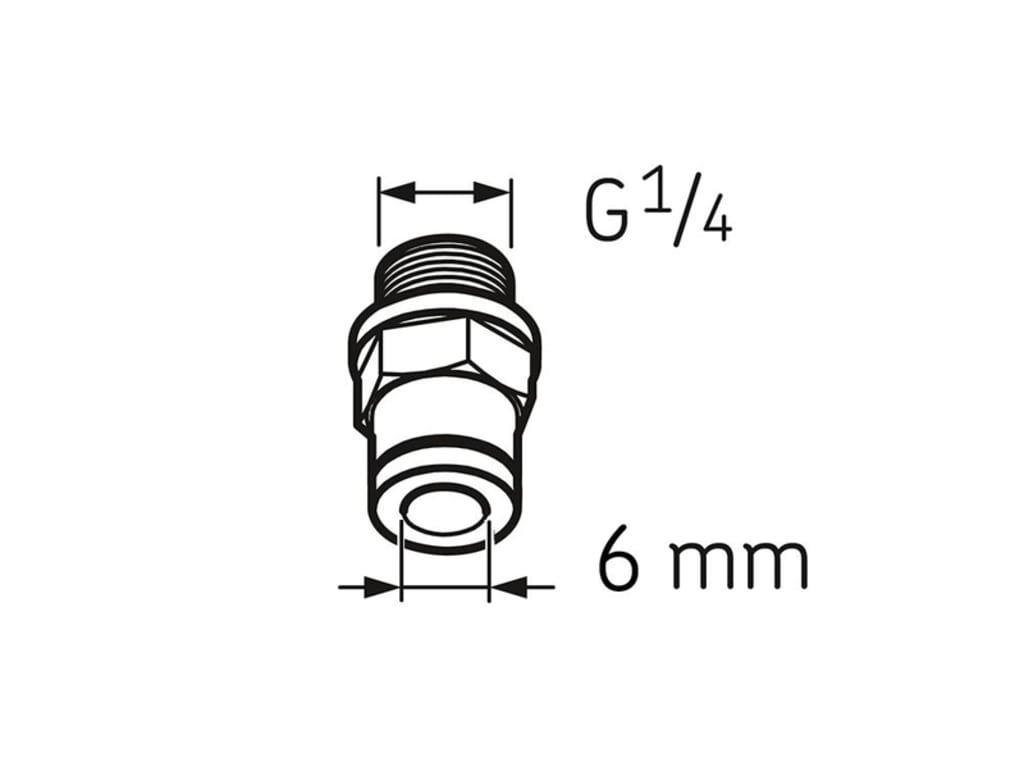 hight resolution of skf lapf m1 4s tube connection male ga1 4 for 6x4 tube