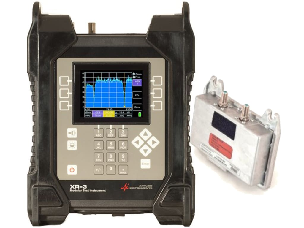 hight resolution of applied instruments xr 3 with xr ts2 01 dbs satellite meter module