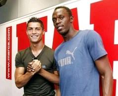 """Ronaldo Is Definitely Faster Than Me"" – Usain Bolt"
