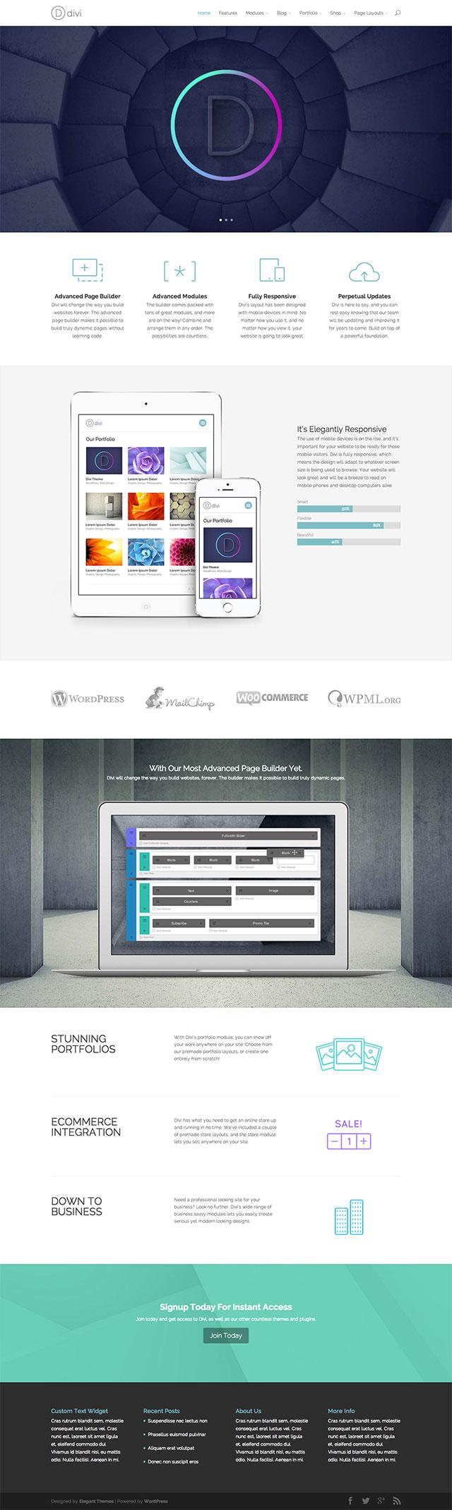 Divi Theme WebDesign mit diesem Theme bei innotag