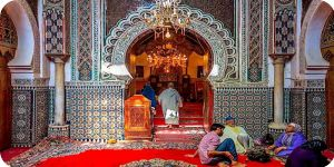 Marrakech carpet shop