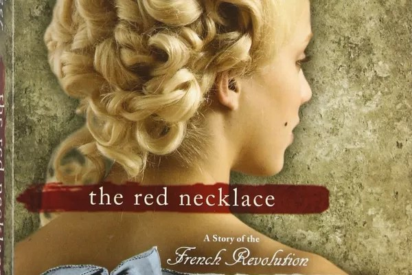 the red necklace is