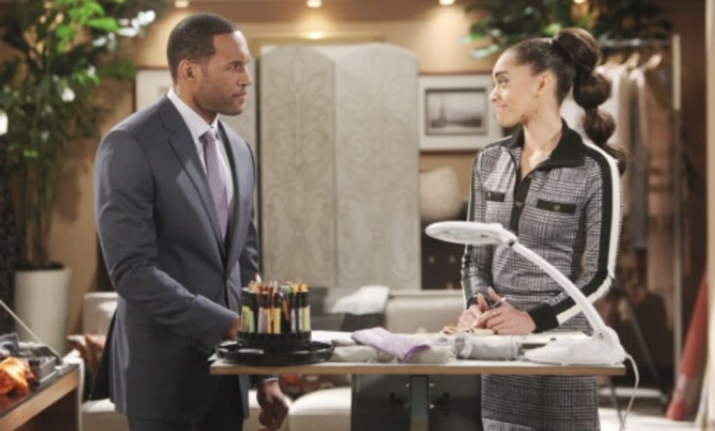 """On """"The Bold and the Beautiful"""" Carter may comfort Zoe when Thomas ..."""