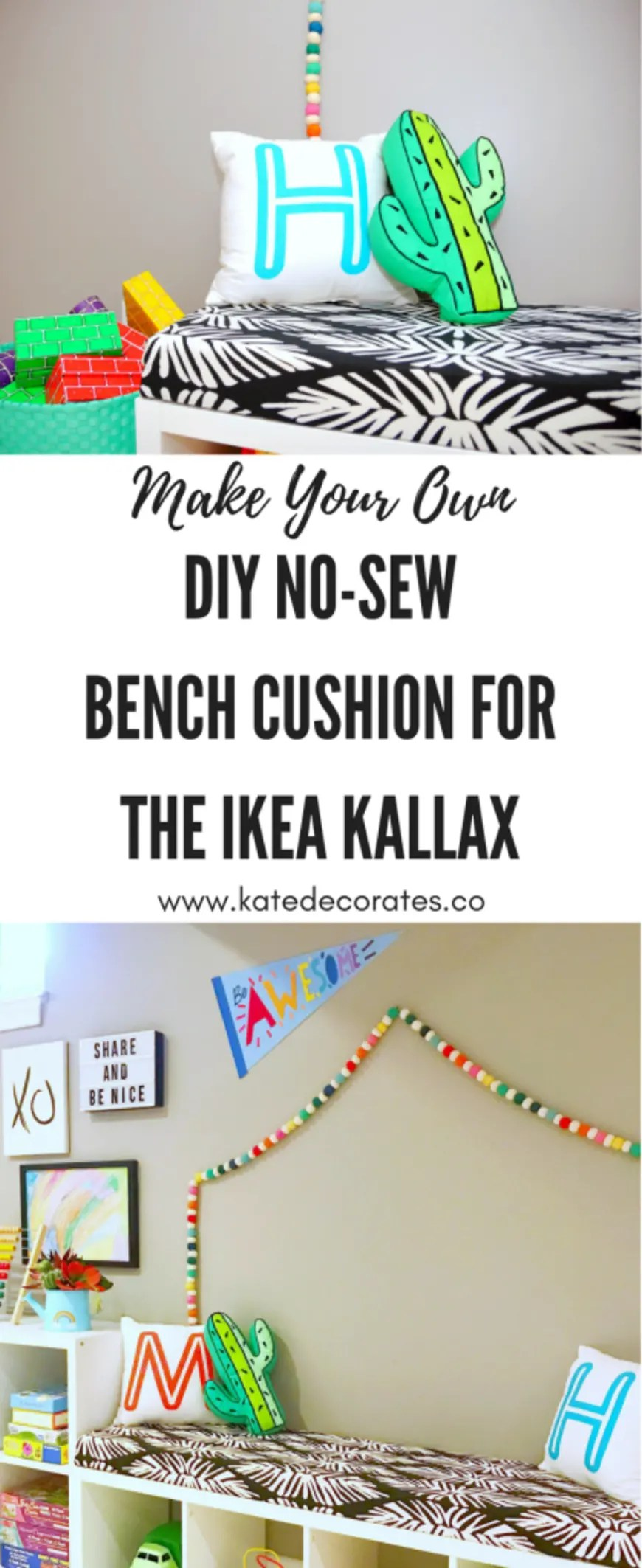 This IKEA Kallax hack is SUCH a great idea for a kids' room!