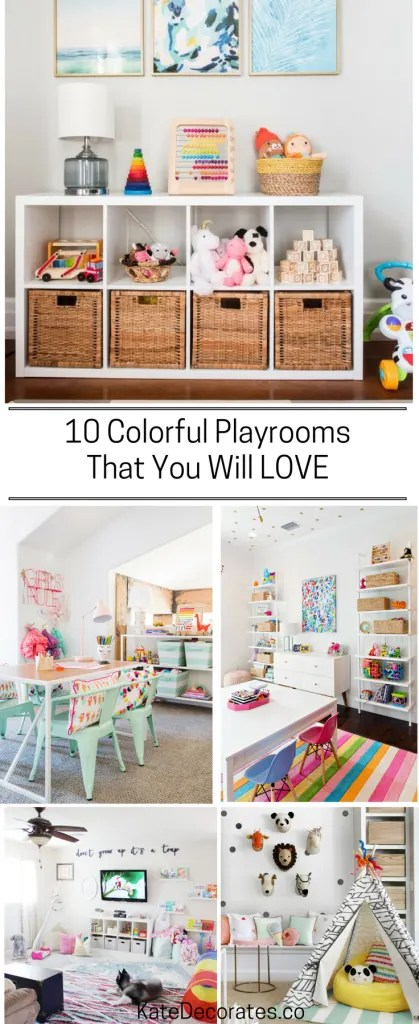 10 Playroom Makeover Ideas