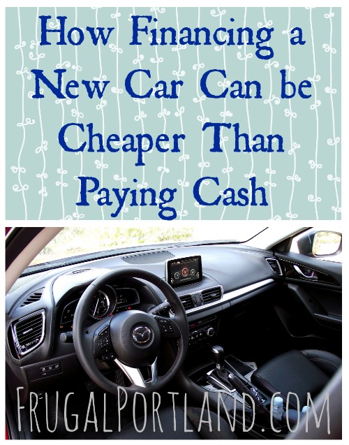 How Financing a New Car Can be Cheaper Than Paying Cash
