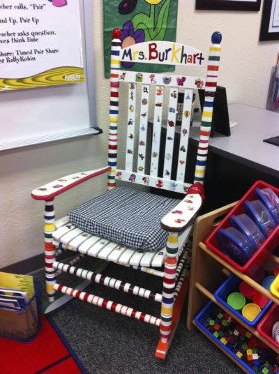 teacher rocking chair x rocker video game classroom set up must haves kelly harmon educational consultant