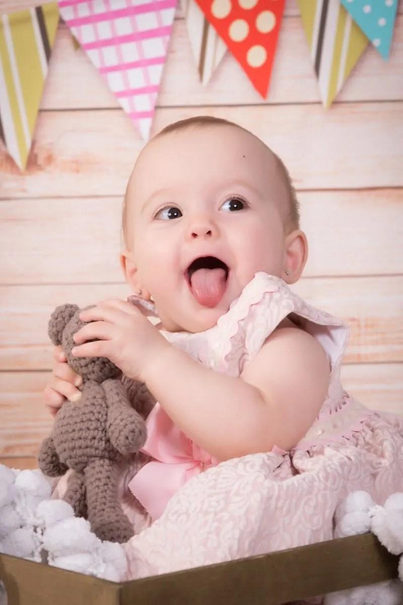 kidsfoto.es Sesión de fotografías de bebé en estudio en Zaragoza