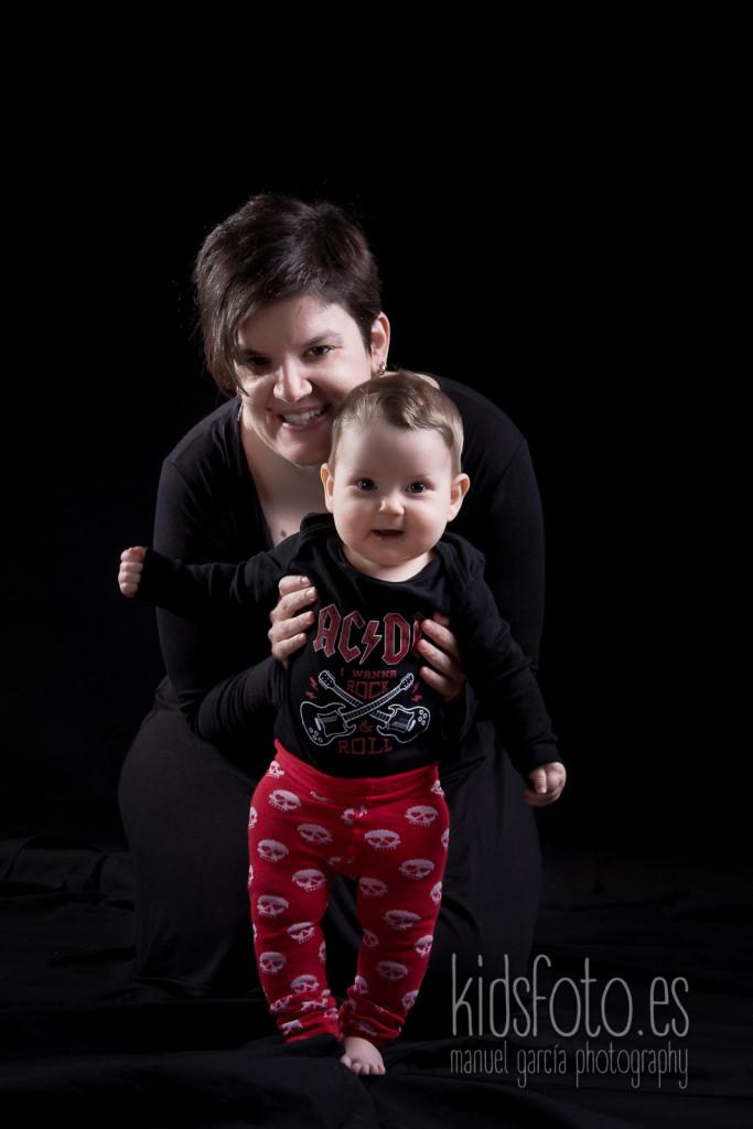 kidsfoto.es Sesión fotográfica Bebé Erika Zaragoza