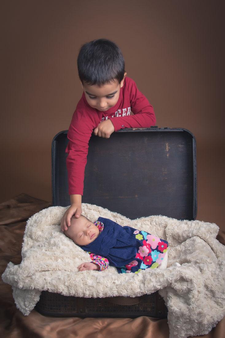kidsfoto.es Fotografía familiar, Maria, Bebé 21 días Zaragoza