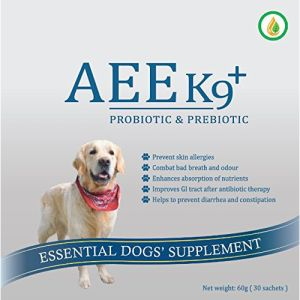 AEE K9+ Probiotic & Prebiotic Supplement For Dogs