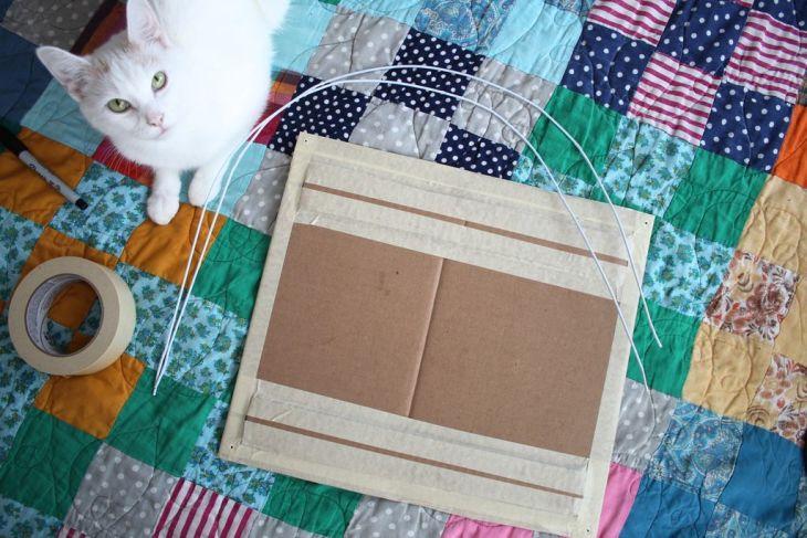diy cat tent 3