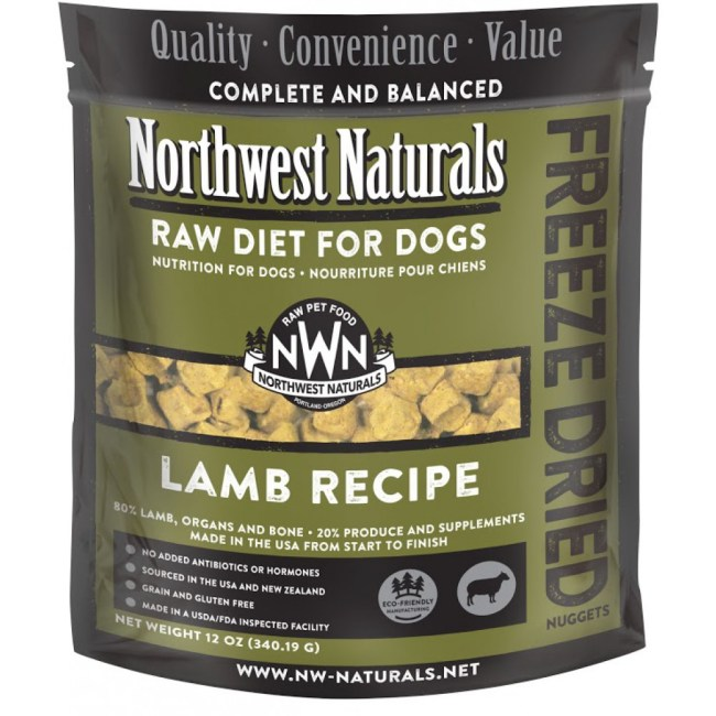northwest-naturals-lamb-freeze-dried-raw-diet-for-dogs