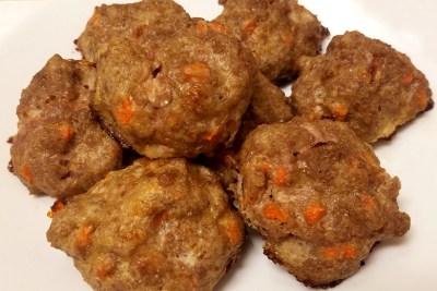 beef and veggie balls