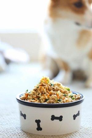 Recipe 1- Turkey, Rice & Mixed Veggies