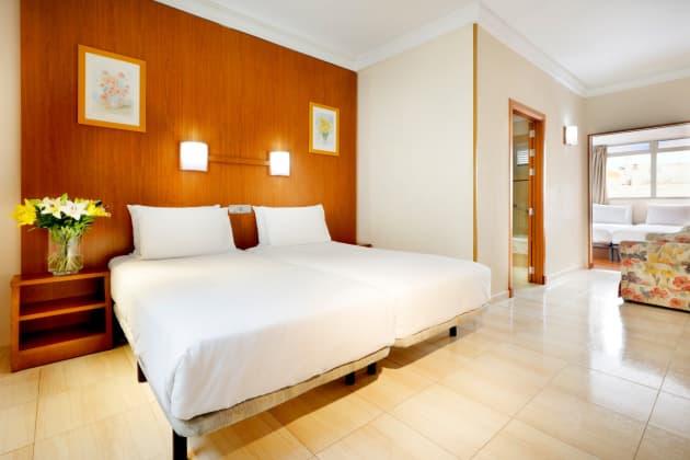 Hotel Alisios Canteras Las Palmas de Gran Canaria desde