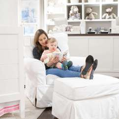 Pottery Barn Baby Rocking Chair White Chairs For Rent Rocker Reviews Kids Lay