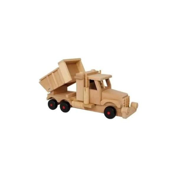 Camion benne en bois