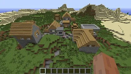 minecraft seeds awesome seed blacksmiths